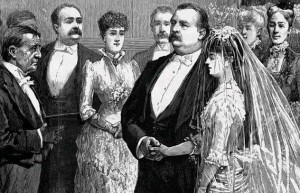 President Cleveland's White House wedding to Frances Folsom