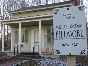 Millard Fillmore's house in East Aurora, NY