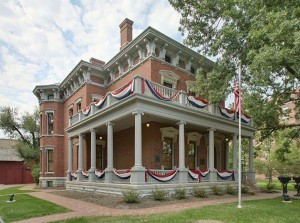 Benjamin Harrison's home in Indianapolis