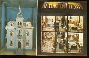 Fanny Hayes' Christmas doll house