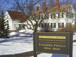 Franklin Pierce's home in Concord, New Hampshire