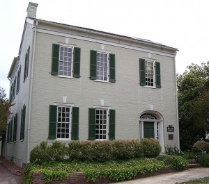 James K. Polk's house in Columbia, Tennessee